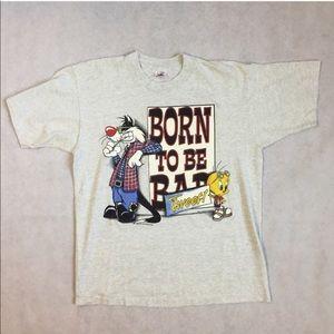 Grey Warner Bro's. Tweety T-shirt